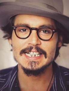 johhny depp teeth