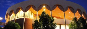 asu gammage theater at night