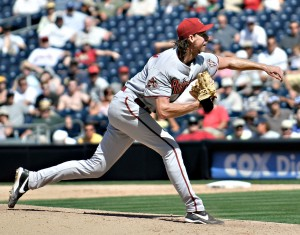 diamondback pitcher randy johnson